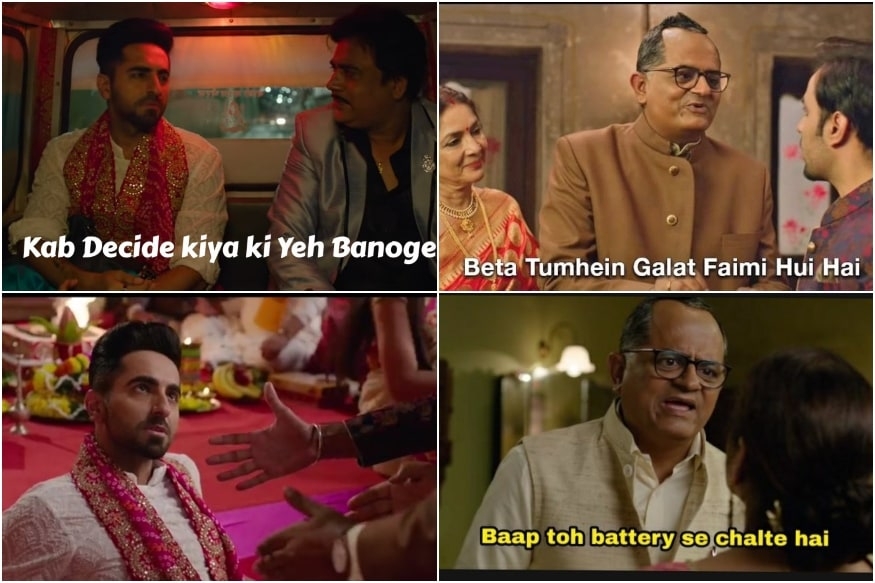 These Memes From Shubh Mangal Zyada Saavdhan Trailer Prove That the Film is Already a