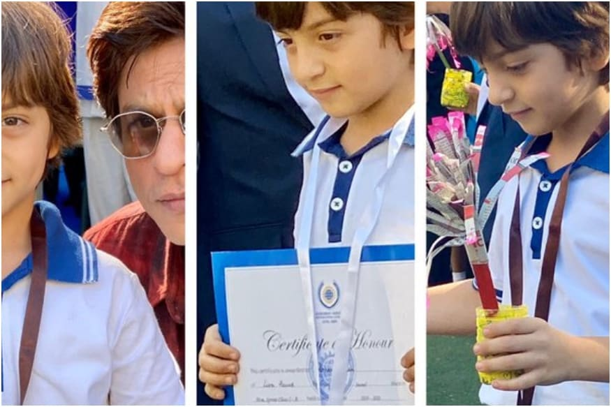 Shah Rukh Khan is a Proud Daddy as Son AbRam Wins Silver and Bronze Medals at the