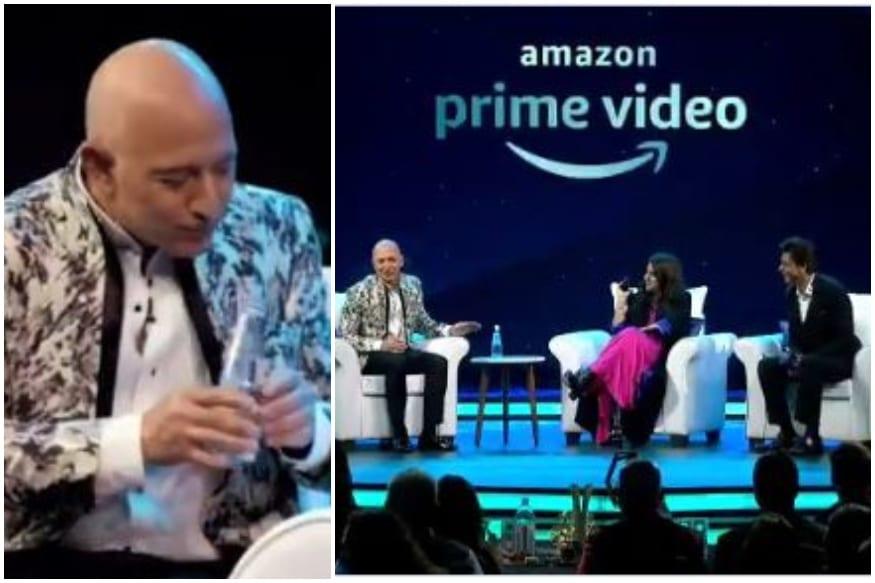 Jeff Bezos Calls Shah Rukh Khan 'Most Humble Man', Almost Chokes on Water at Khan's Response
