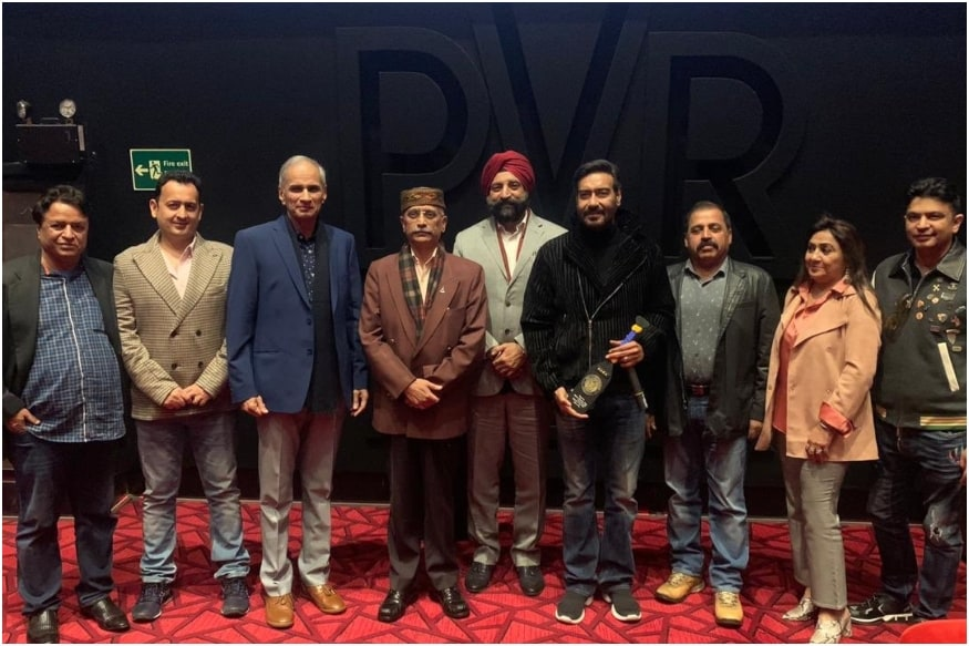 Ajay Devgn Thanks Army, Navy and Air Chiefs for Attending Tanhaji