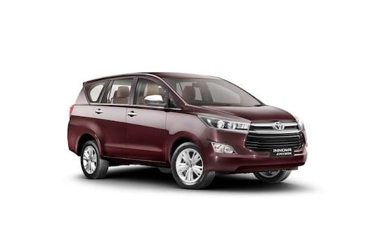 Toyota Innova Crysta (Image Source: Toyota Kirloskar Motors)