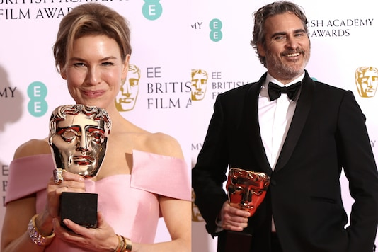 The trophies for Sam Mendes' movie 1917 included best film, best British film, best director and best cinematography. 'Joker' won three awards including best actor for Joaquin Phoenix. Check out the complete list of winners at BAFTAs 2020.