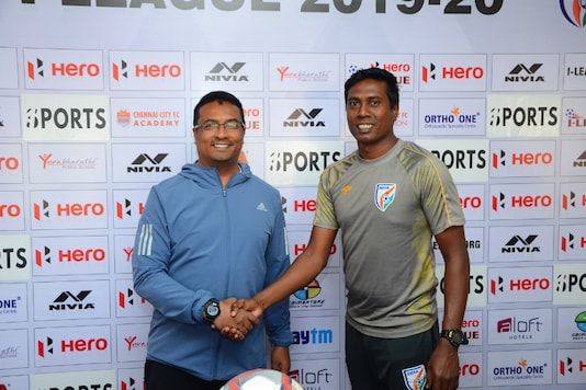 Chennai City FC host Indian Arrows in the I-League. (Photo Credit: AIFF Media)