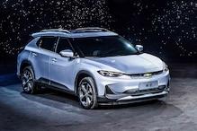 General Motors Launches Chevrolet Menlo Electric Sedan in China