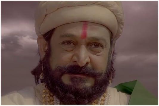 Mahesh Manjrekar in Me Shivajiraje Bhosale Boltoy