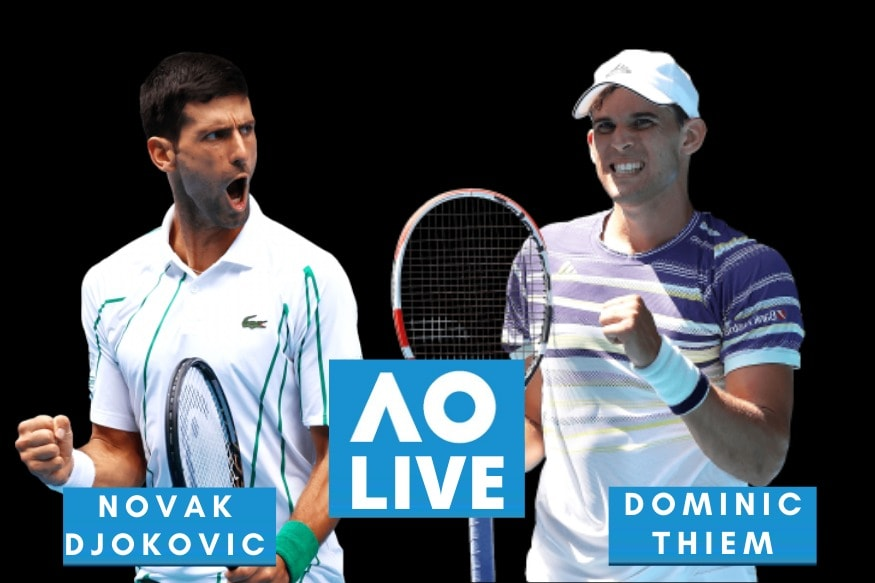Australian Open 2020 Men S Final Highlights Novak Djokovic Beats Dominic Thiem To Win Record 8th Title News18