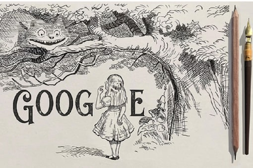 A screen grab of Friday's google doodle.