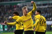 Bundesliga: Teenager Erling Haaland Scores 40th Goal of Season as Borussia Dortmund Go 2nd