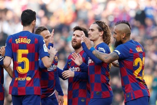 FC Barcelona (Photo Credit: Reuters)