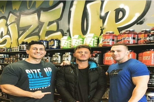 Entrepreneur Chase Campbell Has Revolutionised The Supplement And Apparel Industry With His Brand 'Size Up'