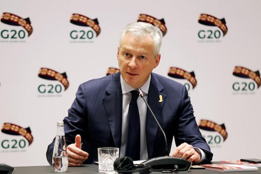 French Finance and Economy Minister Bruno Le Maire speaks during the G20 finance ministers and central bank governors meeting in Riyadh, Saudi Arabia, February 22, 2020. (Image: REUTERS/Ahmed Yosri)