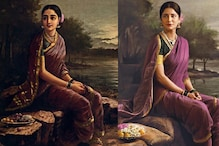 Celebrity Photographer Recreates Ravi Varma Paintings With Celebs