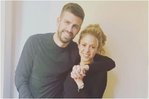 Gerard Pique with Shakira