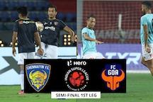 ISL 2019-20 HIGHLIGHTS, Chennaiyin FC vs FC Goa Semi-final: Chennai Pump 4 Past Hapless Goa