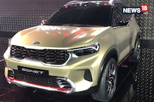 Auto Expo 2020: Upcoming KIA Sonet Concept Compact SUV | First Look