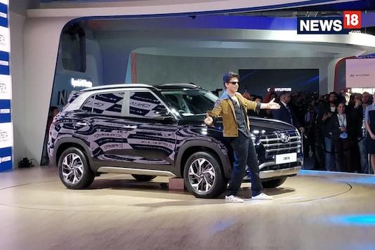 New Hyundai Creta at the Auto Expo 2020. (Photo: News18.com)