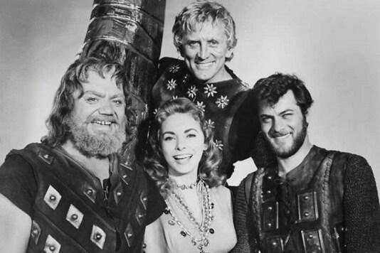 Jamie Lee Curtis remembering Kirk Douglas  on the set of The Vikings