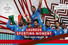 Sachin Tendulkar's 2011 WC Moment Wins Laureus Award