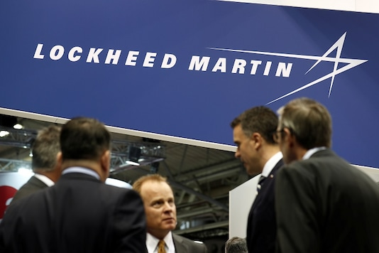 The logo of Lockheed Martin is seen at Euronaval, the world naval defence exhibition in Le Bourget near Paris, France, October 23, 2018. (Image: REUTERS)