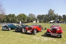 MG Motors Participates in 21 Gun Salute Classic Car Rally