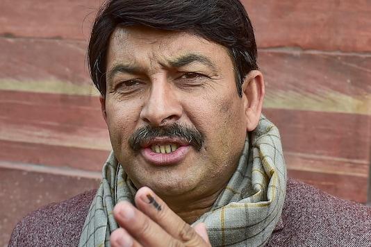 A file photo of Manoj Tiwari.
