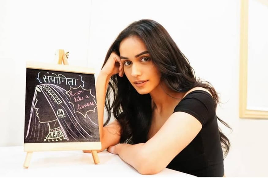 Manushi Chhillar Shows Off Doodling Skills By Sketching Her Character From