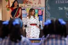 'Very Inspiring': On Maiden Trip to India, Melania Impressed with 'Happiness Class' in Govt School