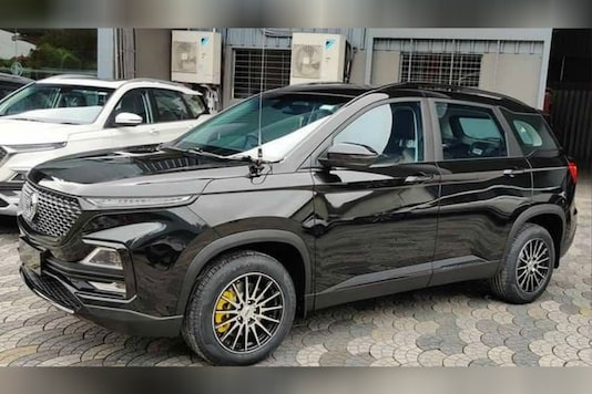 """Customised MG Hector. (Image source: YouTube/<a href=""""https://youtu.be/2nSw07VEyys"""">Pilot on Wheels</a>)"""