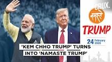 Donald Trump's Gujarat event renamed from 'Kem Cho Trump' to 'Namaste Trump'