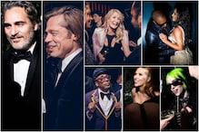 Inside Oscars 2020 Party: Brad Pitt Goes Right in, Joaquin Phoenix Makes Early Exit from Vanity Fair