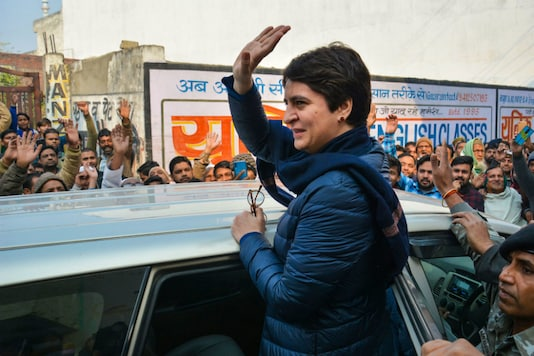 A file photo of Congress General Secretary Priyanka Gandhi. (PTI)