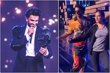 When Ranveer Singh and Madhuri Dixit Matched Steps on 'Chane ke khet mein'