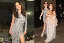 British Star Liz Hurley Attends Armaan Jain's Reception Party