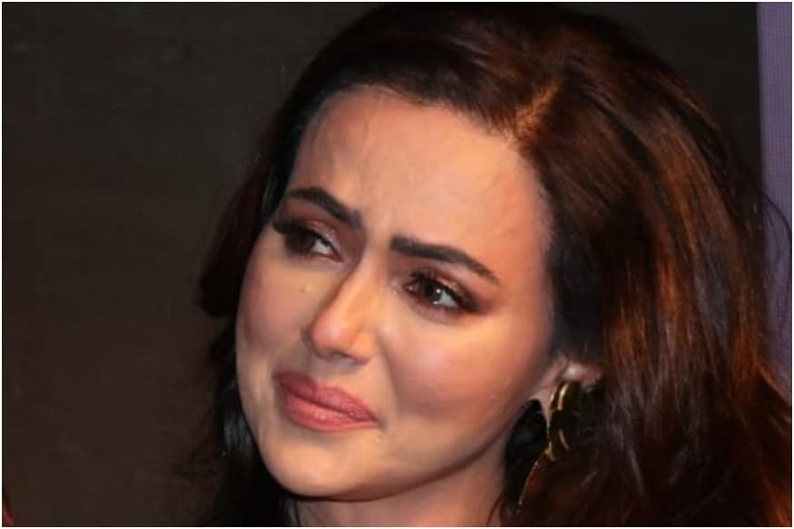 Sana Khan Breaks Down at Special Ops Trailer Launch Post Breakup with Melvin