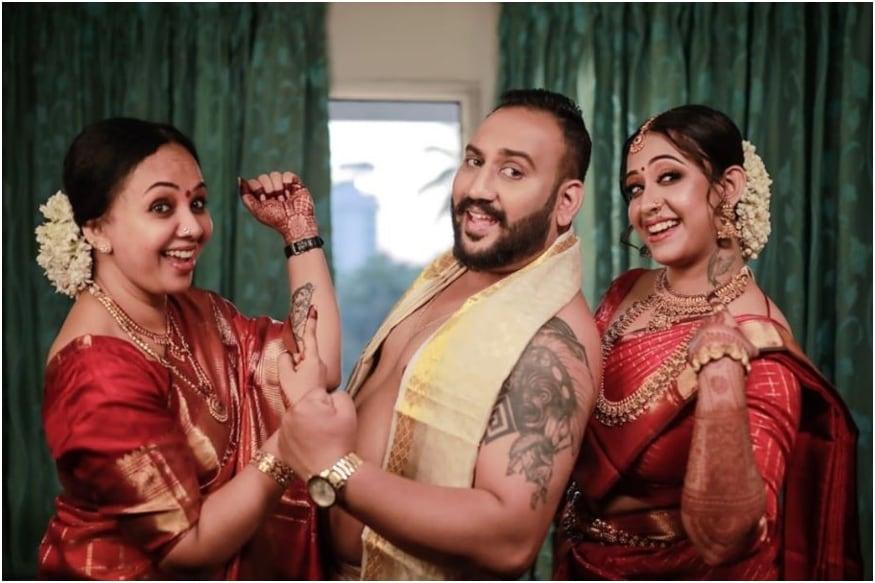 Sowbhagya Venkitesh Gets Hitched to Long-term Boyfriend Arjun Somasekhar, See