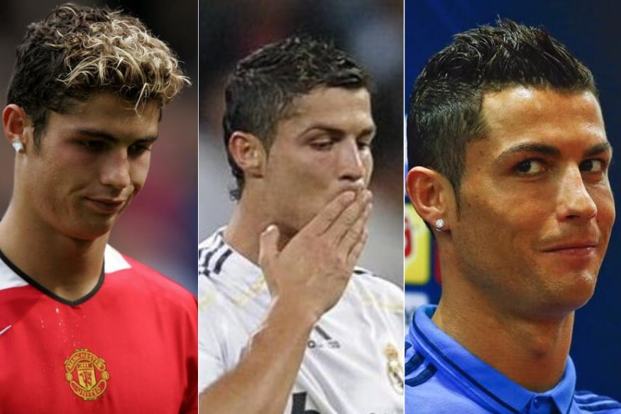 Happy Birthday Cristiano Ronaldo Iconic Looks And Hairstyles Cr7 Sported Over Years