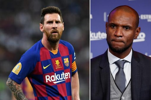 Lionel Messi and Eric Abidal (Photo Credit: Reuters)