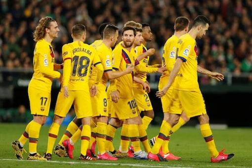 Barcelona's Lionel Messi (Photo Credit: Reuters)