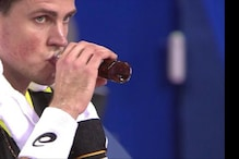 Made in Canada: Vasek Pospisil Drinks Maple Syrup during Montpellier Final