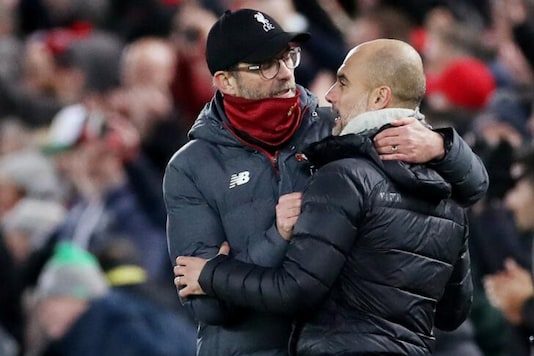 Jurgen Klopp and Pep Guardiola (Photo Credit: Reuters)