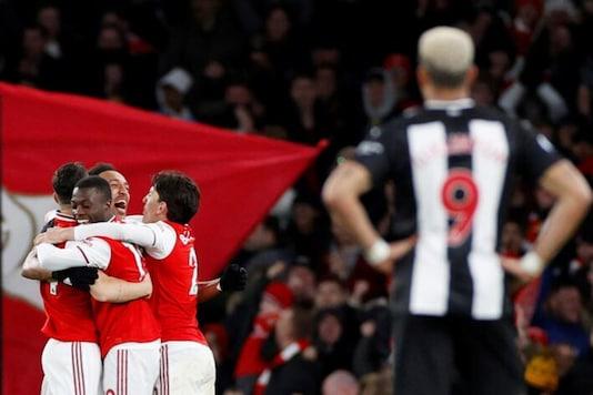 Arsenal beat Newcastle United (Photo Credit: Reuters)