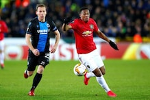 Europa League: Anthony Martial Grabs Key Away Goal as Manchester United Draw Club Brugge 1-1