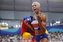 Venezuela's Yulimar Rojas Sets New Indoor Women's Triple Jump World Record
