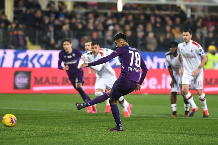 Serie A: Stefano Pioli Angry as Fiorentina Hit Back with 10 Men to Hold AC Milan