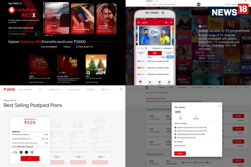 Here is How to Get Netflix, Amazon Prime, Zee5 And More Free With Your Mobile Plan
