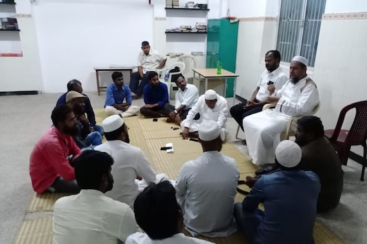 Members of Dalit community, who converted to Islam gather to offer prayers. (Image: News18)