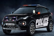 Here's How a Tata Nexon SUV Based Police Car Could Look Like: Watch Video