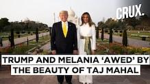 Donald Trump, Wife Melania Visit Taj Mahal, Says The Monument