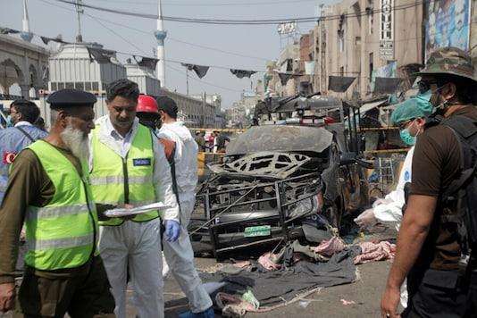 Deadly Bomb Blast Near Sufi Shrine in Pakistan