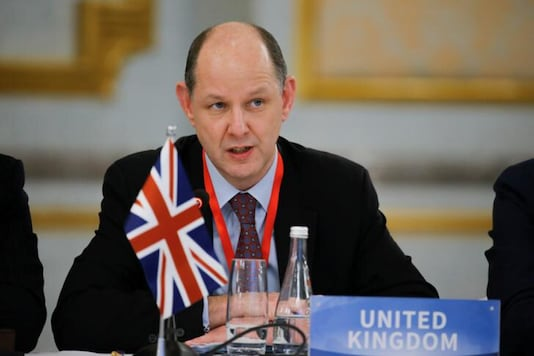 Philip Barton, the UK High Commissioner to India. (Reuters)